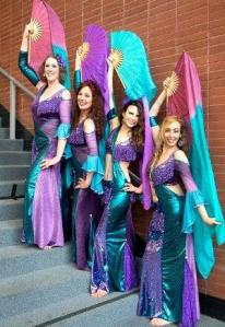 Marin bellydance group led by Dhyanis 2016